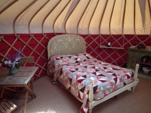 Escape to Swallow yurt