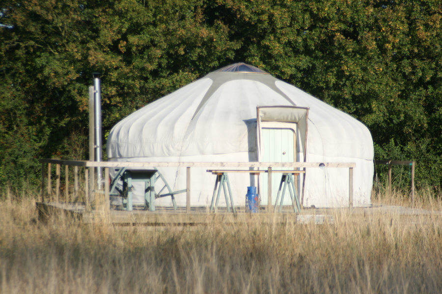 Yellowhammer yurt