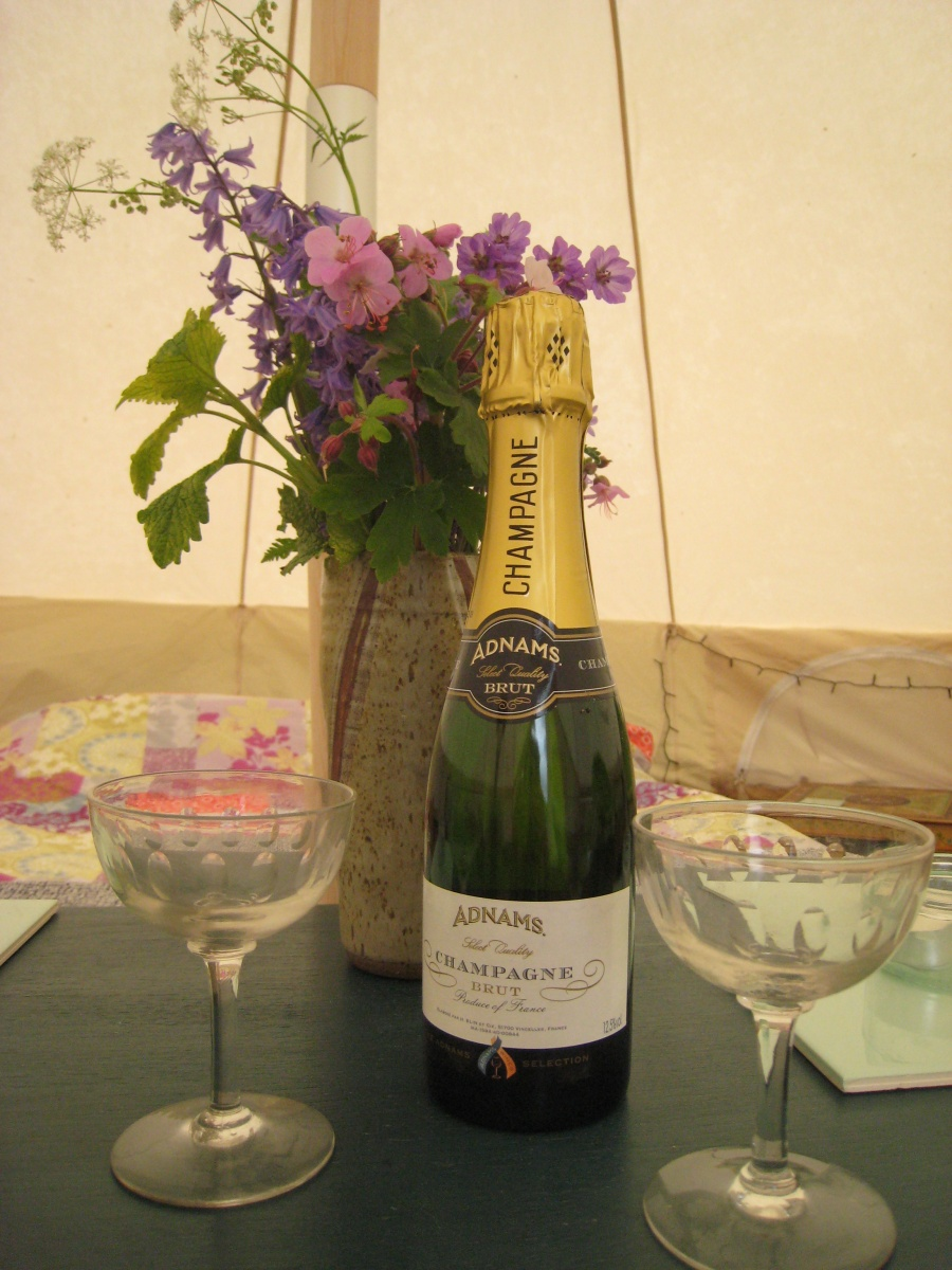 Celebrate in Bell Tent!